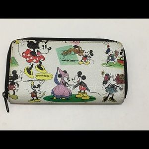 Disney Parks Minnie & Mickey Wallet
